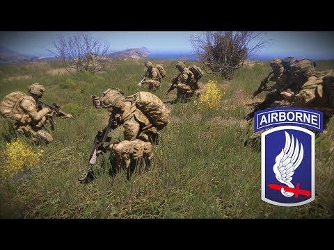 173rd Airborne Arma 3 Operation Breaking Chain