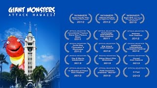 """""""Giant Monsters Attack Hawaii!"""" - Short Film Directed by Dane Neves"""