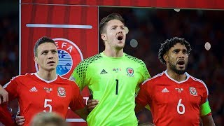 GOOSEBUMPS! Wales fans deliver incredible rendition of the national anthem