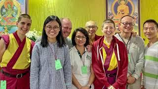 The joy of the kadampa asian festival