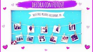 DECORA CON FOTOS!!♥ DIY- CUADRO