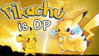 Pikachu is OP - Smash Bros. Wii U Montage