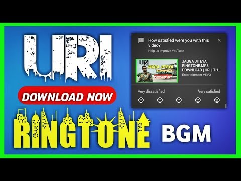 URI   BGM   RINGTONE DOWNLOAD   JAGGA JITEYA   Helicopter Sence Music   Uri Background Music