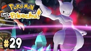 Pokemon Lets Go Pikachu Part 29 POST GAME MEWTWO CAPTURE Walkthrough Gameplay