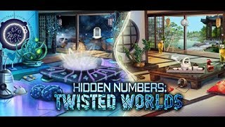Hidden Numbers:Twisted Worlds Gameplay-(PC HD)-Best H2o Game Ever