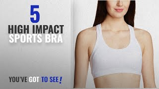 Top 10 High Impact Sports Bra 2018 Jockey Women 39 s Cotton Padded Active Bra