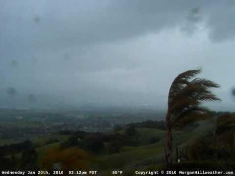 Tornado Warning - Morgan Hill, California