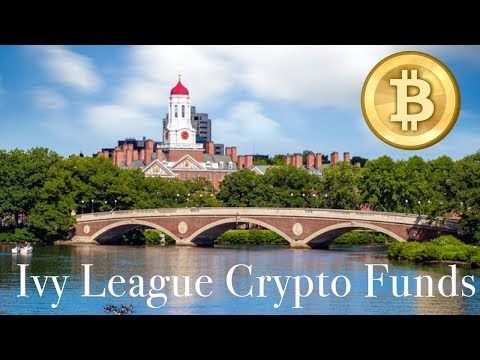 Harvard's $35BN Endowment Fund Invests Into CRYPTOCURRENCIES!