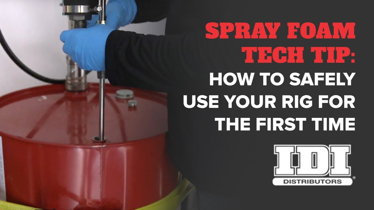 How To Start Your Spray Foam Rig For The First Time Step By Step Youtube