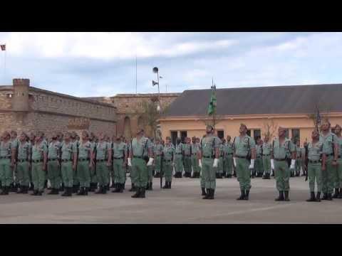 Sabado Legionario 2013 Melilla. 1º encuentro de veteranos.
