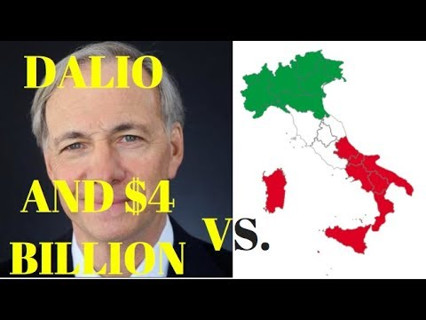 RAY DALIO's $4 BILLION BET AGAINST ITALIAN BANKS!
