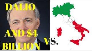 Ray Dalio's $4 Billion Bet Against Italian Banks!