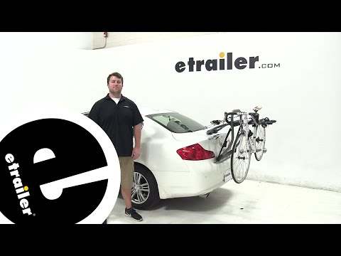 etrailer | Yakima Trunk Bike Racks Review - 2013 Infiniti G37