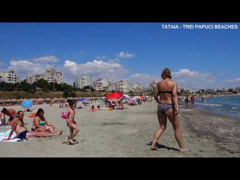 CONSTANȚA, ROMANIA, BLACK SEA COAST AFTER BEACH SANDING, JULY 2016
