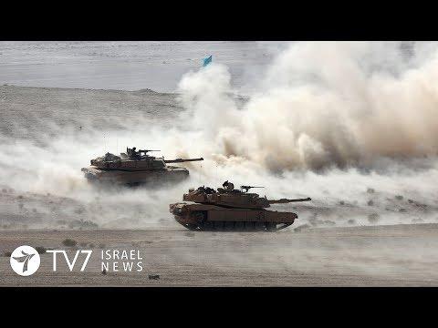 Jordan Conducts Massive Military Exercise Along Israel's Border - TV7 Israel News 03.12.19