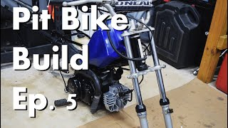 Pit Bike Build Ep.5 IT RUNS