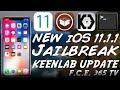 NEW KEENLAB iOS 11.1.1 Jailbreak UPDATE