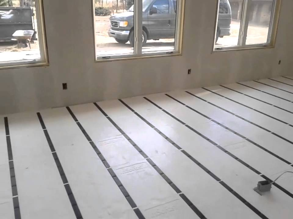 Garage Retrofit With Insulated Concrete Floor Youtube