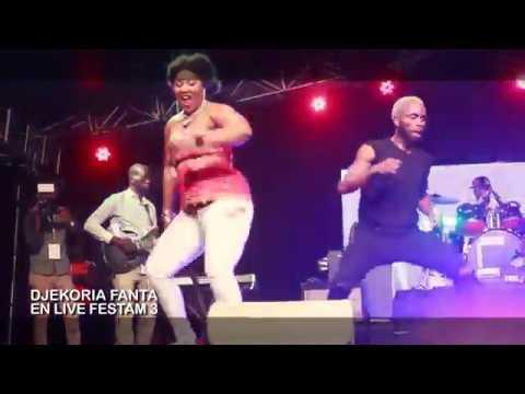 Djekoria Fanta - Concert Live FESTAM 3 (Abidjan)