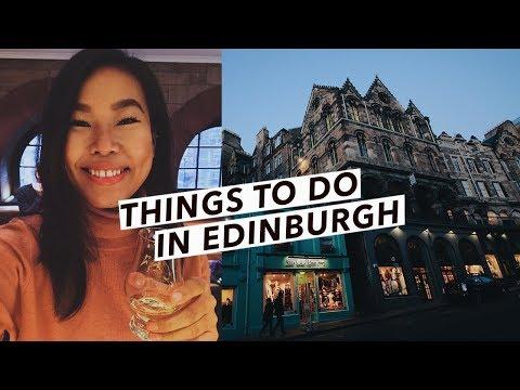 Edinburgh Travel Vlog: Harry Potter Spots, Christmas Markets & Things To Do | Edinburgh, Scotland