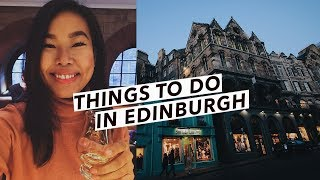 Edinburgh Travel Vlog: Harry Potter Spots, Christmas Markets & Things To Do | Edinburgh, Scotland