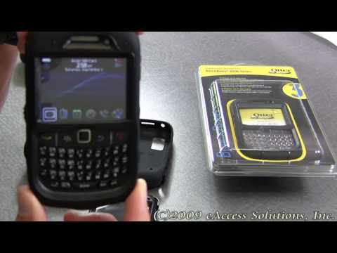 Otterbox Rugged BlackBerry Curve 8520 Case Demo