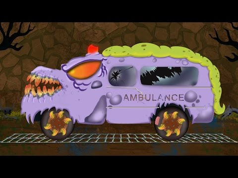 scary ambulance   formation and uses   Halloween video for kids