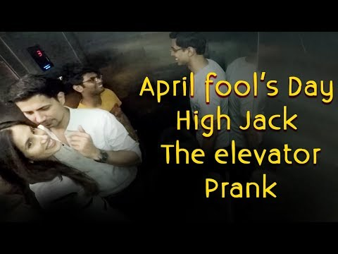 April Fool's Day | Sumeet and Sonnalli High Jack the Elevator