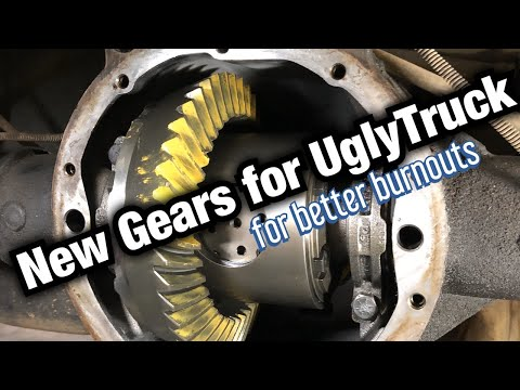 """how to re-gear a GM 8.6"""" 10-bolt axle"""