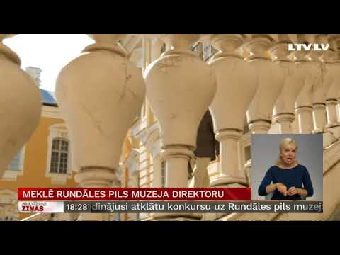 Meklē Rundāles pils muzeja direktoru