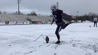 All-star kicker gives Western Mustangs confidence heading into Vanier Cup