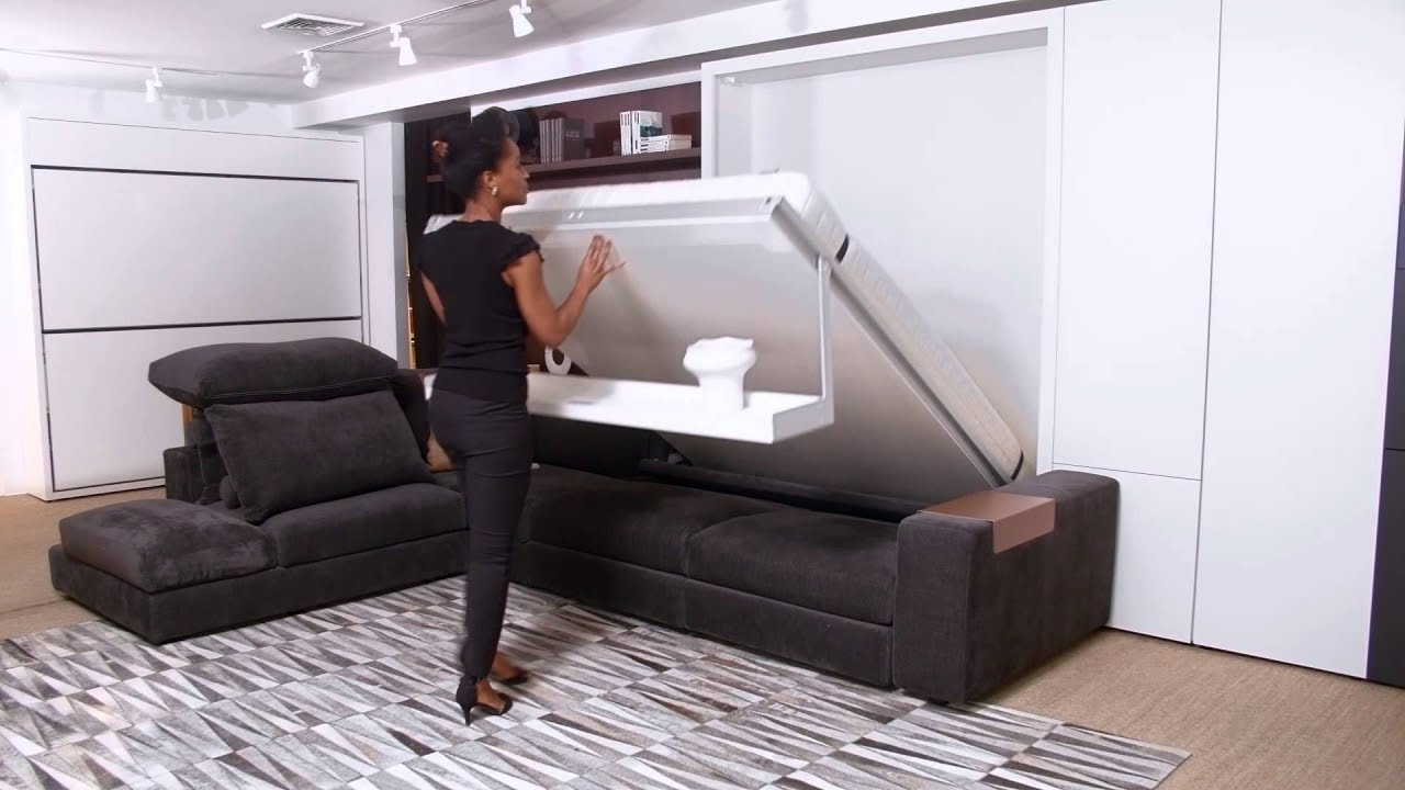 Tango | Resource Furniture | Wall Bed Systems - YouTube