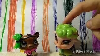 Як сплести аксесуари для lps і іншим іграшкам?   Плетіння з гумок | Іграшки і DIY.