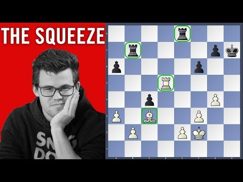 The Squeeze  - Carlsen vs Karjakin | SINQUEFIELD CUP 2018  Round 2