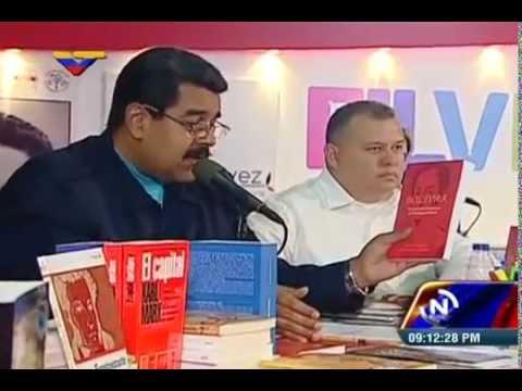 Inauguración de Filven 2015: Evento completo (Feria Internacional del Libro de Venezuela)