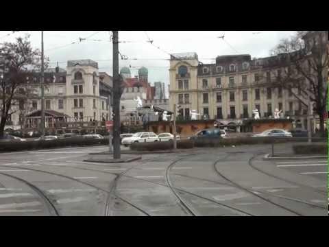München Germany, Straßenbahnmitfahrt Linie 16, hansschnurbusch@gmail.com