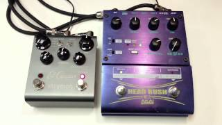 Strymon El Capistan vs Akai Head Rush E2 Tape Delay