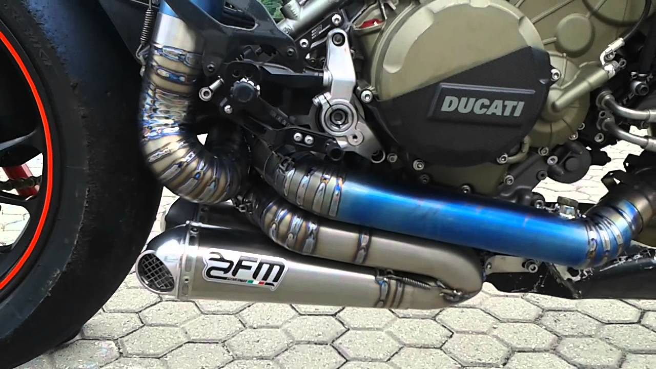 Ducati Panigale V Exhaust