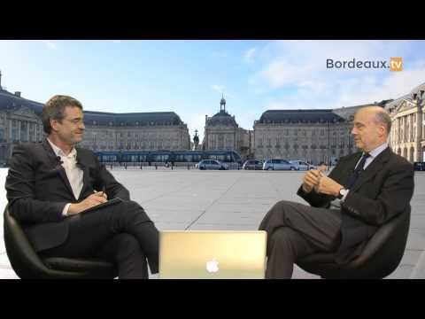 Interview d'Alain Juppé sur Bordeaux.tv - Partie 1