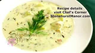 Chef Avi's New England Clam Chowder