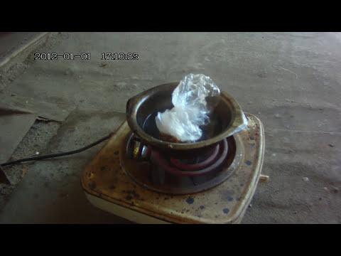 В домашних условиях литье полиэтилена