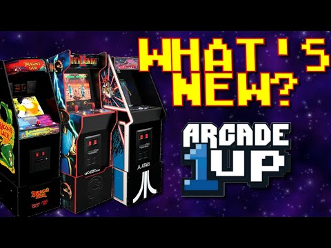 Arcade1up - What's New (May 2021)? from Greg's Game Room