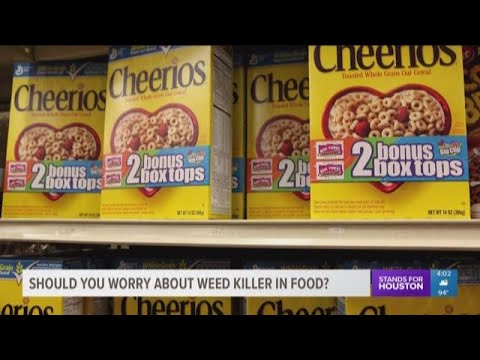 Experts shed more light on weed killing chemical found in cereal