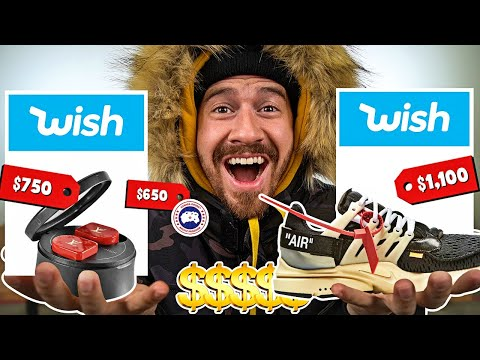 I Bought The MOST EXPENSIVE Hypebeast Clothing On Wish!!