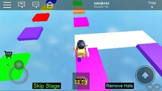 Roblox really easy obby part 1