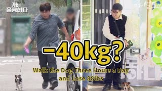 Walk the Dog Three Hours a Day and Lose 88lbs [Dogs Are Incredible]