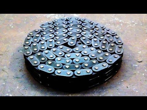 Techno Damascus Steel