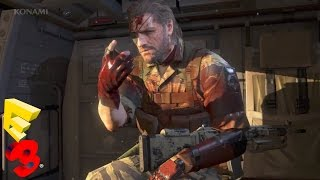 Metal Gear Solid 5: The Phantom Pain FULL Gameplay Panel - E3 2015  (Metal Gear Solid V)