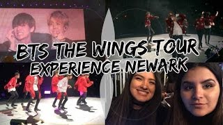 2017 BTS THE WINGS TOUR NEW JERSEY EXPERIENCE W/ FOOTAGE | KMREACTS