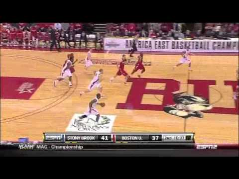 John Holland - 2011 America East Championship BU vs. Stony Brook